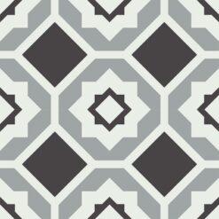 Gạch bông CTS 274.1(4-9-13) - 4 viên - Encaustic cement tile CTS 274.1(4-9-13) - 4 tiles