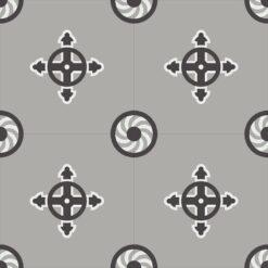 Gạch bông CTS 277.1(4-9-13) - 4 viên - Encaustic cement tile CTS 277.1(4-9-13) - 4 tiles