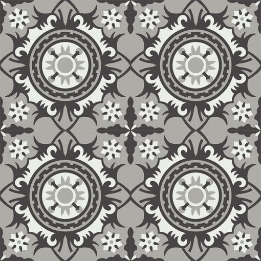 Gạch bông CTS 278.1(4-9-13) - 16 viên - Encaustic cement tile CTS 278.1(4-9-13) - 16 tiles