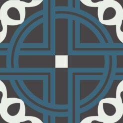 Gạch bông CTS 279.1(1-4-13) - Encaustic cement tile CTS 279.1(1-4-13)