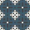 Gạch bông CTS 279.1(1-4-13) - 4 viên - Encaustic cement tile CTS 279.1(1-4-13) - 4 tiles