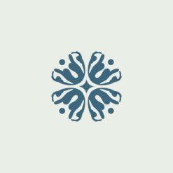 Gạch bông CTS 281.1(1-4) - 4 viên - Encaustic cement tile CTS 281.1(1-4) - 4 tiles