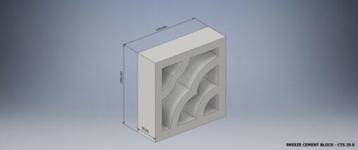 Breeze cement block CTS 29.8