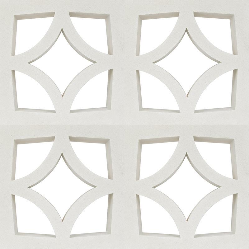 Breeze cement block big size BG30 42.1 - 4 tiles