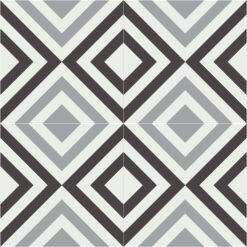 Gạch bông CTS 286.1(4-9-13) - 4 viên - Encaustic cement tile CTS 286.1(4-9-13) - 4 tiles