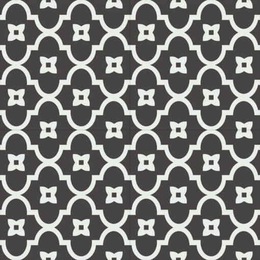 Gạch bông CTS 288.1(4-13) - 4 viên - Encaustic cement tile CTS 288.1(4-13) - 4 tiles