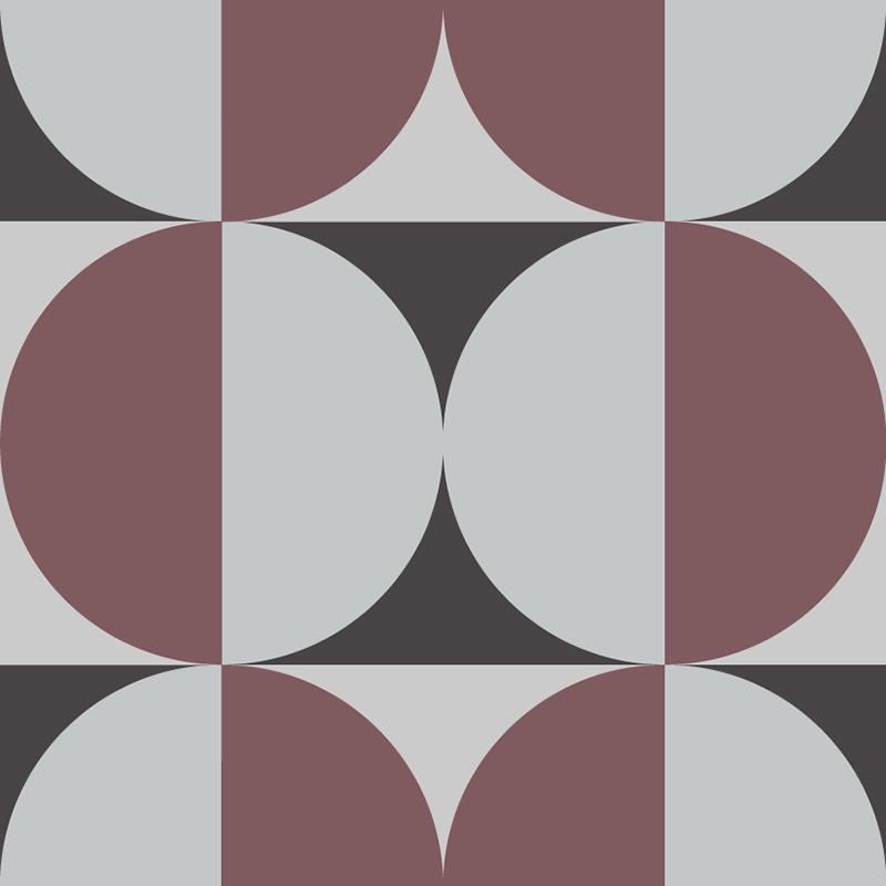 Gạch bông CTS 291.1(13-54-Dark red) - Encaustic cement tile CTS 291.1(13-54-Dark red)