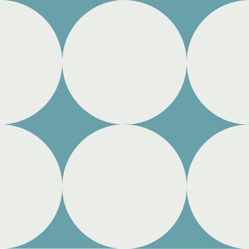 Gạch bông CTS 149.5(4-57.1) - 4 viên - Encaustic cement tile CTS 149.5(4-57.1) - 4 tiles