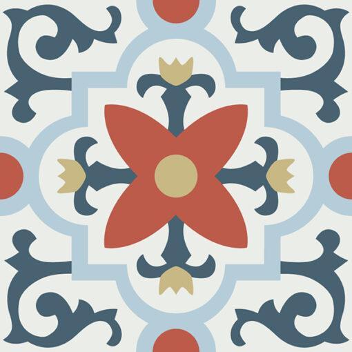 Gạch bông CTS 76.2(1-2-4-5-52) - Encaustic cement tile CTS 76.2(1-2-4-5-52)